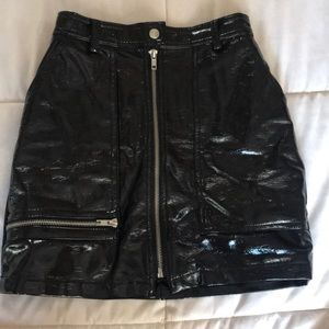 Urban outfitters pleather skirt